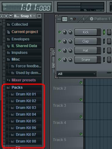 how to add drum kits to fl studio